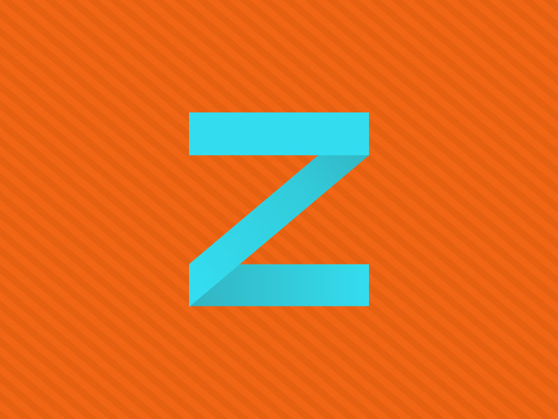 #Typehue Week 26: Z weekly typography type design colour challenge typehue