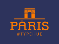 #Typehue CityView Week 2: Paris