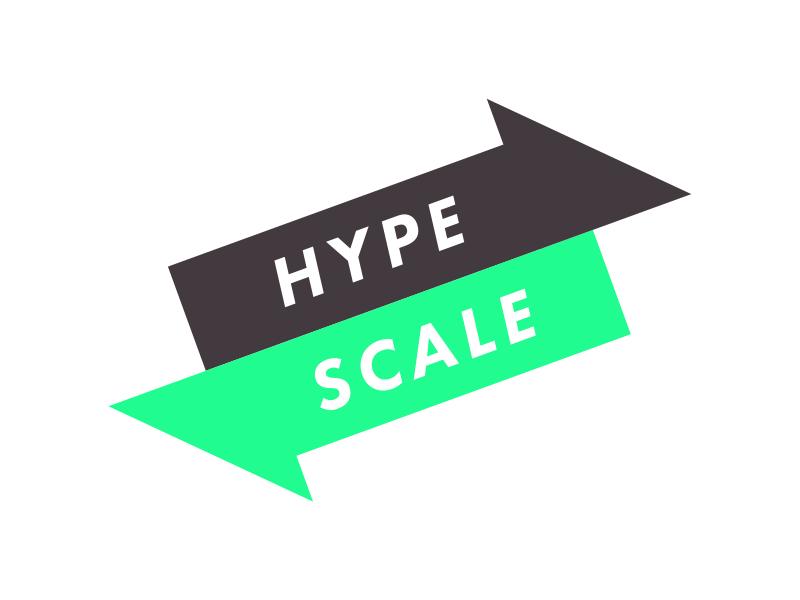 #Typehue Brandom Week 4: HypeScale hype branding logo brand typehue