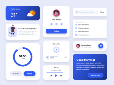 Cards UI  kit