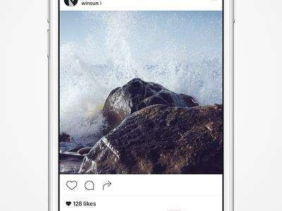 Instagram Night Mode? black white day night app ios instagram