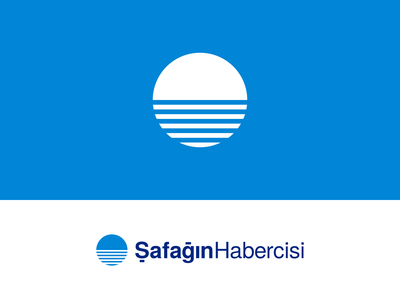 Şafağın Habercisi Logo Design inkscape geometric typography branding vector design logo dawn news