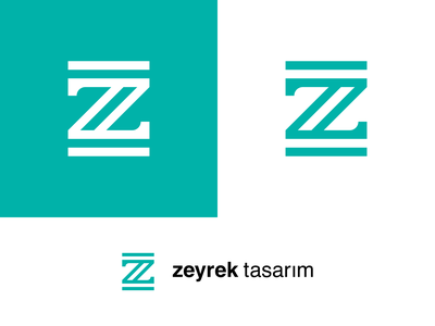zeyrek design z logo typography geometric dribbble branding brand identity design vector logo