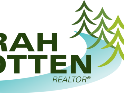Realtor Logo lake country illustration typography layout design logo branding illustrator cc vector graphic design