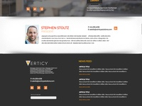 Verticy Homepage Redesign