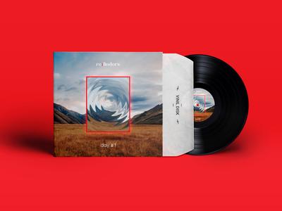 """Album cover design: """"Refinders - Day #1"""""""