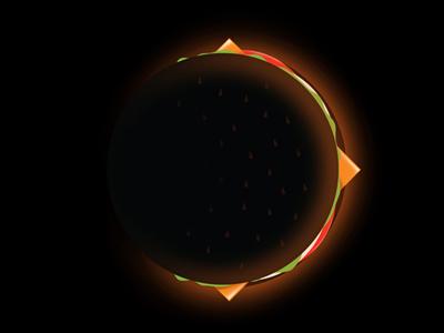 Burger Eclipse burger eclipse threadless dschwen
