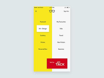 NeuReads App categories ios app book iphone