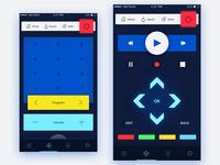 SmartTV Remote Control App Concept