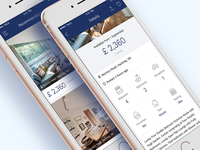Estate Agent App ui iphone app agent estate