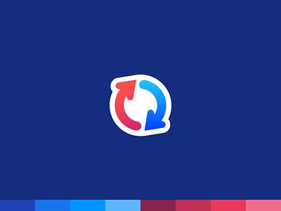 GoodSync app logo app icon icon brand identity logodesign logotype app branding logo