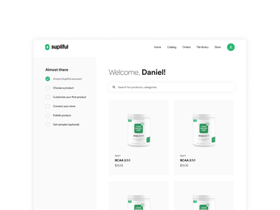 Onboarding to-do list for new users onboarding to-do list platform design uidesign clean