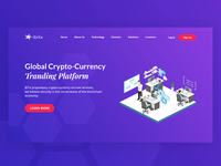 Crypto Currency website redesign