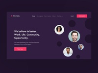 Landing page concept 2