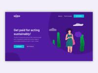 Quro website design