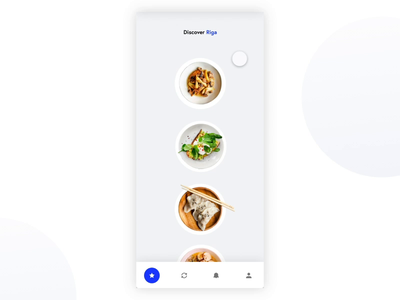 Food app for Daily Creative Challenge app mobile food daily creative challenge