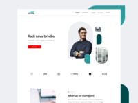 Design concept for landing page