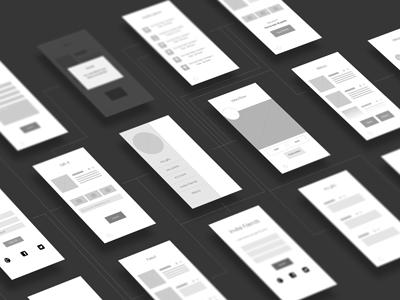 Giftit Screenflow ui mobile screenflow ux