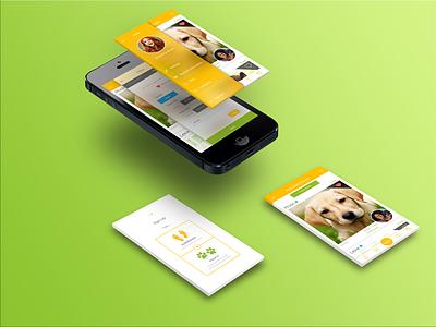 BNB portfolio layout mobile mobile screens