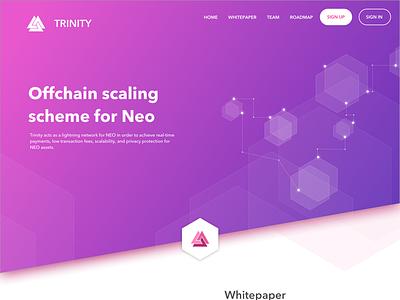 Concept work for Crypto Company trinity tnc neo eth ltc btc litecoin bitcoin crypto cryptocurrency