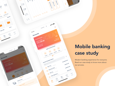 Customer centric mobile banking experience