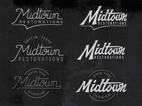 Midtown logo variations