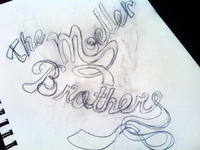 Moeller Type Sketch - the beginnings of type