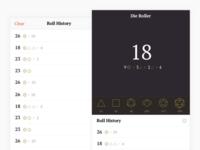 Die Roller App
