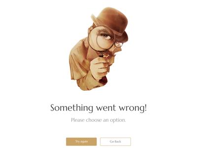 Error UI Design