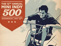 Mini Indy 500 Poster