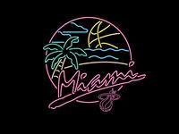 Miami Heat Beach Party