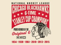 Blackhawks: Original 6 Champs