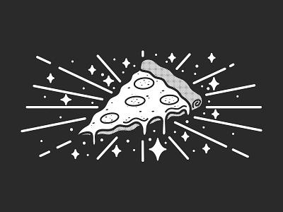 Holiest Of Holies turtle food shine halftone bold cheesy tasty italian holy pizza