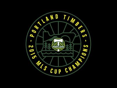 Portland Timbers - MLS Cup Champions adidas tom philibeck portland timbers mls cup timbers oregon portland soccer mls