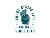 Three Stripe Life