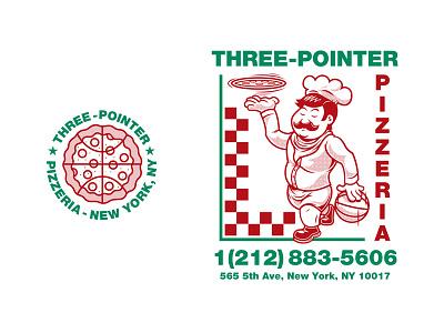 adidas Three Pointer Pizza new york city nyc shop tee new york slice tom philibeck new york basketball pizza adidas