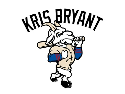 Kris Bryant Billy Goat chicago cubs kris bryant mascot chicago cubs goat