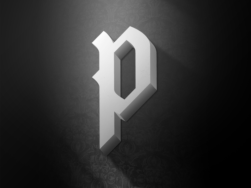 the letter p by tom philibeck dribbble dribbble rh dribbble com cool