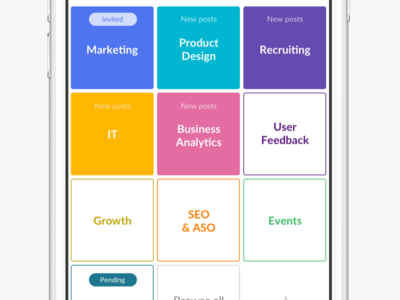Spaces ui kore app messaging ios collaboration spaces