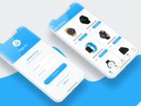 Morem Hiyaal - eCommerce - iPhone X UI Design