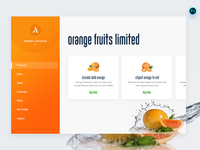 Daily UI 004 - Orange Fruits Limited - Free PSD