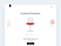 Daily UI 012 - Chair Store - Featured Products