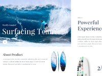 Daily ui 019   surfing camp