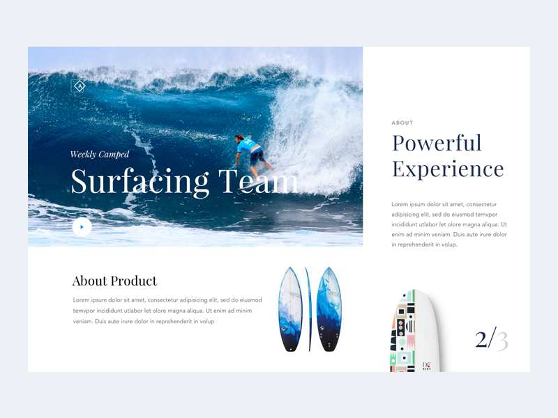 Daily ui 019   surfing camp t