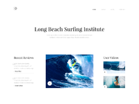 Daily ui 026   surfing institute landing page