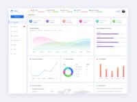 Advertising Web App UI Design