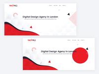 Header For Digital Design Agency