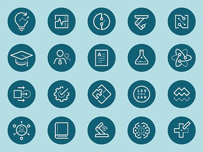 Icon Set pictograms symbols iconography icons icon set
