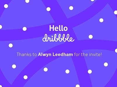 Hey there, Dribbble! design illustrator rowdy hoogendijk rwdy debut