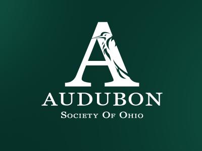 Audubon white logo